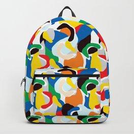 Summer Colour Print Backpack