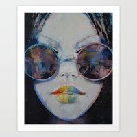 asia Art Prints featuring Asia by Michael Creese