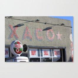 Texaco Oil - Tucumcari, New Mexico (1) Canvas Print