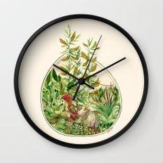 Terrarium Wall Clock