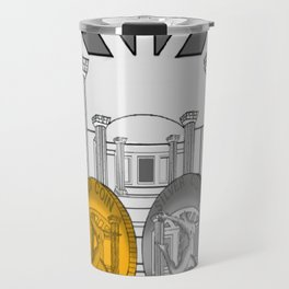 Necropolis Coins Gold and Silver 1 Travel Mug