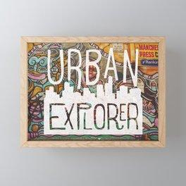 URBAN EXPLORER Framed Mini Art Print