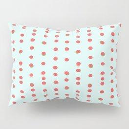 Uneven Dots Watermelon Pillow Sham