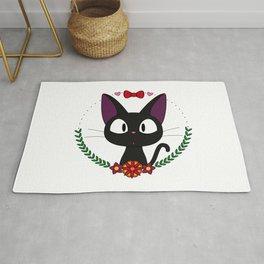 Little Black Cat Rug