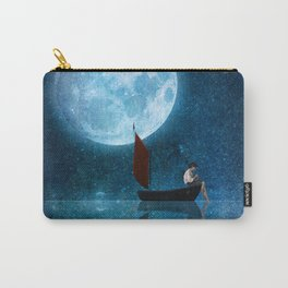 The Moon and Me Carry-All Pouch