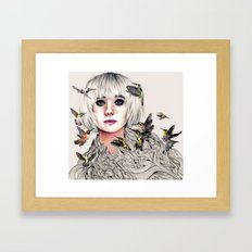 Whirring Framed Art Print