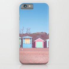 Beach huts iPhone 6s Slim Case