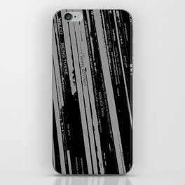 Records 2 iPhone Skin