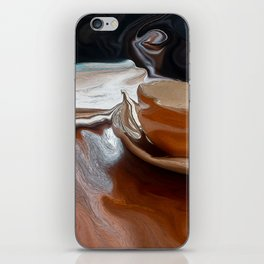 Coffee Shop Newspaper iPhone Skin