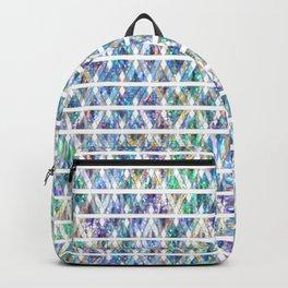 Geometric Glossy Pattern G331 Backpack