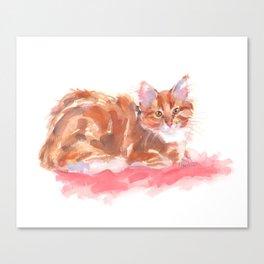 Ginger Girl Canvas Print