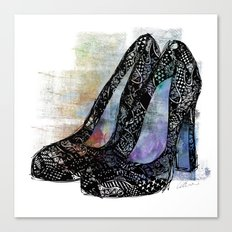 Pumps Canvas Print