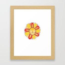 'Dandelion' Lion  Framed Art Print