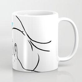 cat nude Coffee Mug