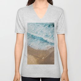 The Surfer and The Ocean Unisex V-Neck