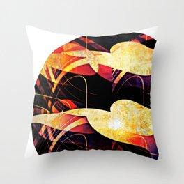 Towards the sun #II Throw Pillow