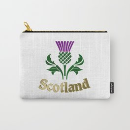 Scottish emblem thistle Carry-All Pouch