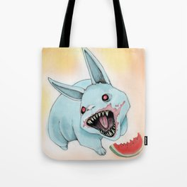 Zombie Bunny Tote Bag
