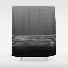 Horizon (grey) Shower Curtain