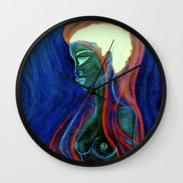 Soul Healer Green Wall Clock