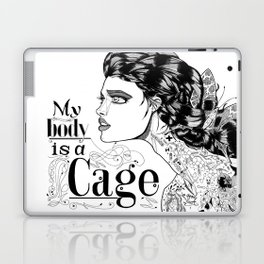 My body is a cage Laptop & iPad Skin
