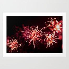 Fireworks - Philippines 11 Art Print