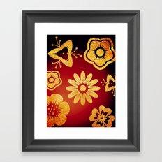 Mi Flor Framed Art Print