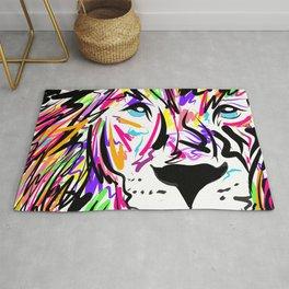 Leo Lion Lines Rug