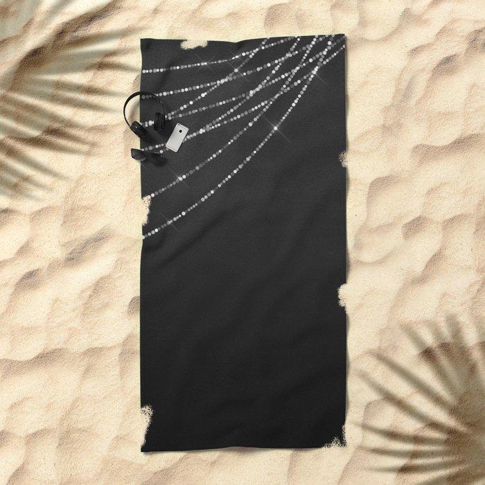 Fairy Lights 03 Beach Towel