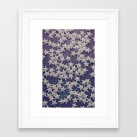 starry night Framed Art Prints featuring Starry Starry Night (1) by Karin Elizabeth