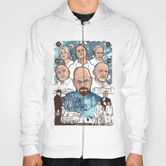 Breaking Bad: The Good, The Bad & The Ugly Hoody