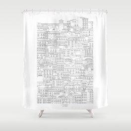 la Latina (Madrid, Spain) Shower Curtain
