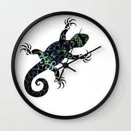 Tuatara Wall Clock