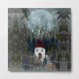 wizard wood Metal Print