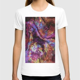 unique marble b T-shirt