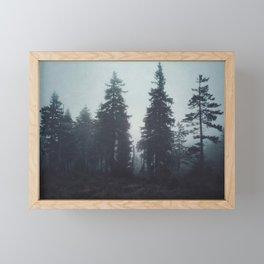 Leave In Silence Framed Mini Art Print