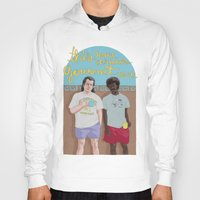pulp fiction Hoodies featuring Pulp Fiction by Mexican Zebra