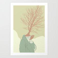 Woman Nature 7 Art Print