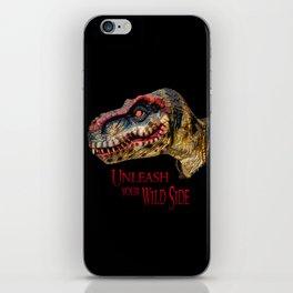 T-Rex Dinosaur - Unleash your wild side iPhone Skin
