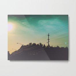 On the Road #2 Metal Print