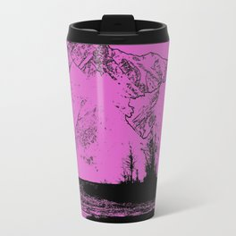 Knik River Mts. Pop Art - 5 Travel Mug