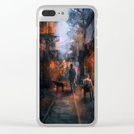 Barrio in the SE Clear iPhone Case
