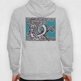 Mermaid in Turquoise Hoody