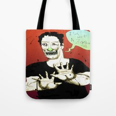Not a Zombie Tote Bag