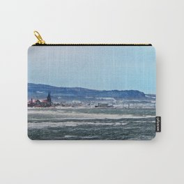 Winter in a coastal village Carry-All Pouch
