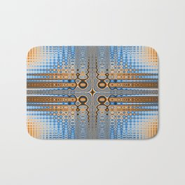 Abstract stained glass  Bath Mat
