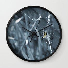 Patience (in Blue) Wall Clock