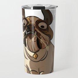 Leone the British bulldog Travel Mug