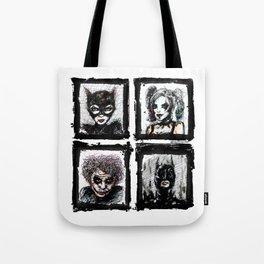 Heroes or Villians? Tote Bag