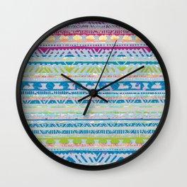 Tribalesk Wall Clock